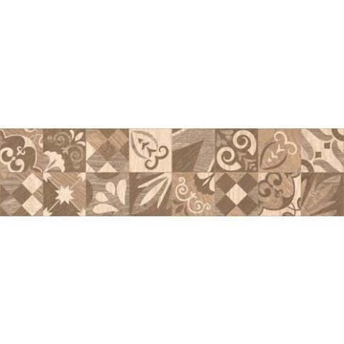 Гранитогрес Алпино декор кафяв 15.5/60.5 8 мм. 6050, КАИ 3