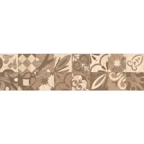 Гранитогрес Алпино декор кафяв 15.5/60.5 8 мм. 6050, КАИ 4