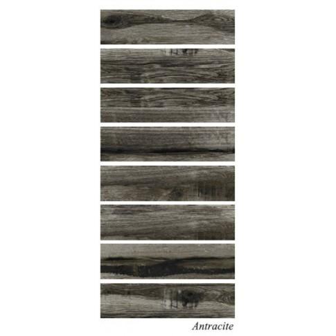 Гранитогрес Юка антрацит 15.5х60.5 8969, КАИ 2