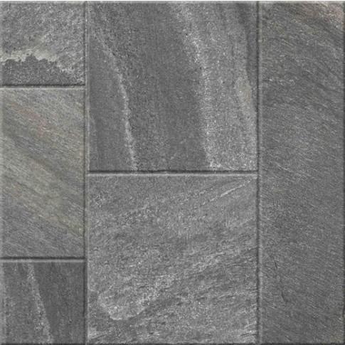 Гранитогрес Сантана микс антрацит 60/60 9335, Ceramica Fiore 14