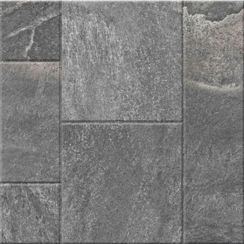 Гранитогрес Сантана микс антрацит 60/60 9335, Ceramica Fiore 5
