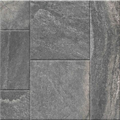 Гранитогрес Сантана микс антрацит 60/60 9335, Ceramica Fiore 6