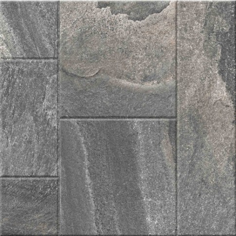Гранитогрес Сантана микс антрацит 60/60 9335, Ceramica Fiore 10