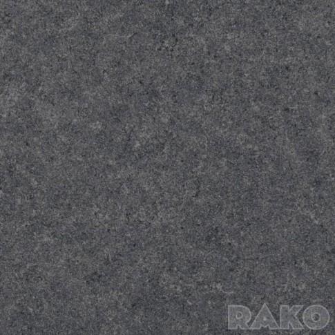 Калиброван гранитогрес Rock черен 60х60х1 второ качество DAK63635