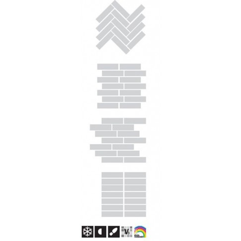 Гранитогрес Канела охра 15.5х60.5 8975, КАИ 3