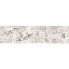 Гранитогрес Ботега декор винтидж  бял 15.5/60.5 9809, Ceramica Fiore