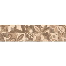 Гранитогрес Алпино декор кафяв 15.5/60.5 8 мм. 6050, КАИ